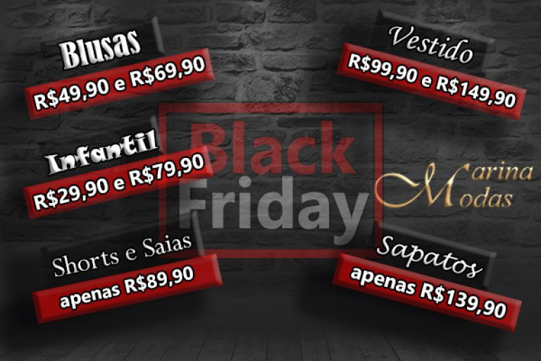.:Black Friday Marina Modas:.